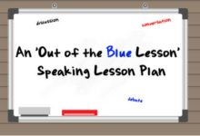 An 'Out Of The Blue' Lesson Plan