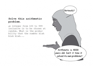 Mathematics: it's the language that counts