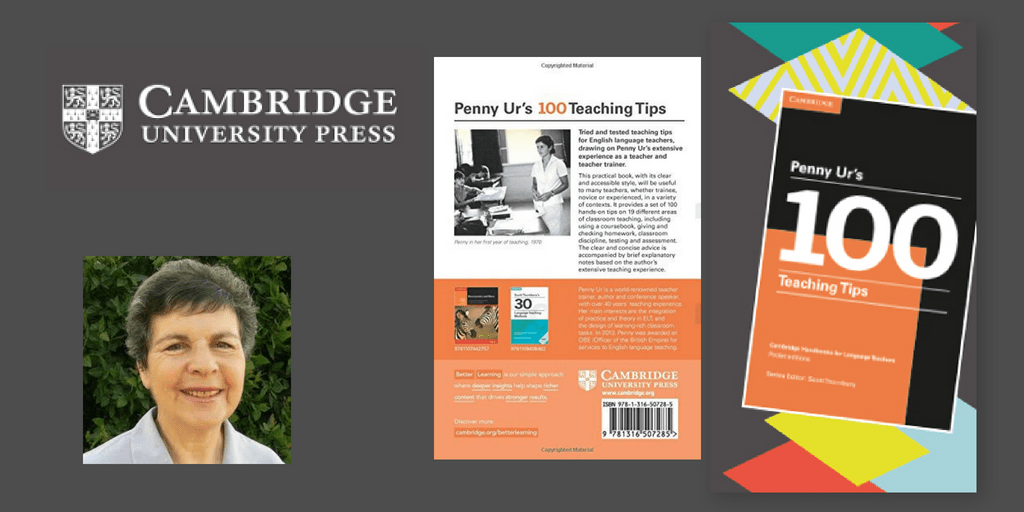 Penny Ur : 100 Teaching Tips - Book Review - EFL Magazine