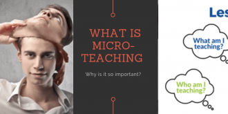 How to prepare yourself for a micro teaching session