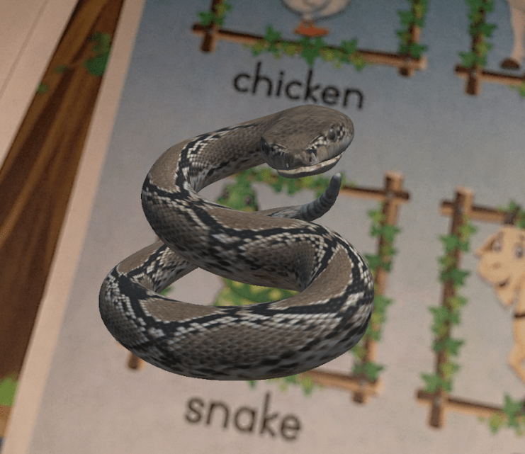 Bringing the Dead To Life:  Vocabulary Teaching with Augmented Reality
