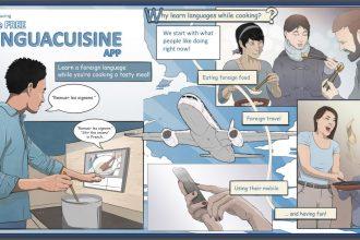 Linguacuisine Comic