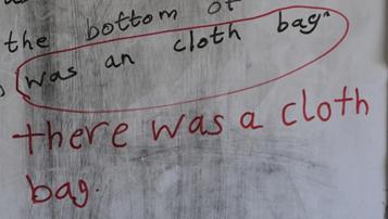was a cloth